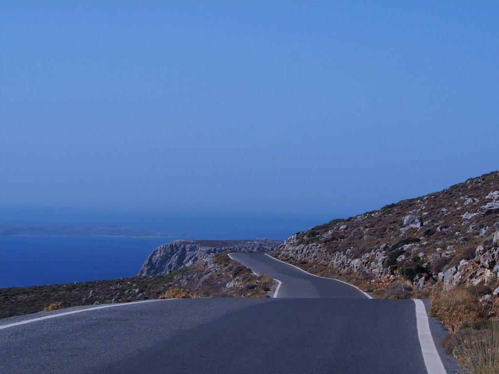 הכביש הראשי של כרתים