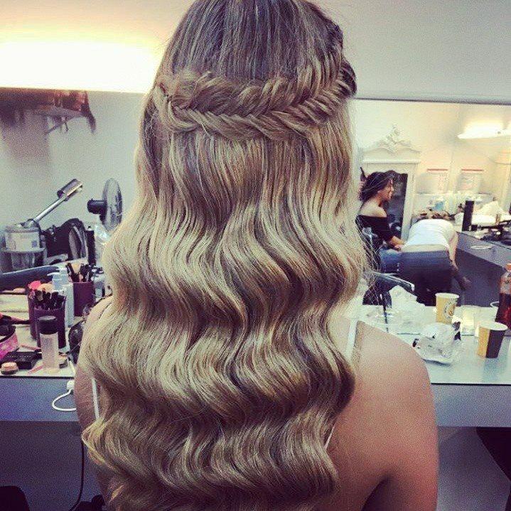 שיער וייב עם צמה