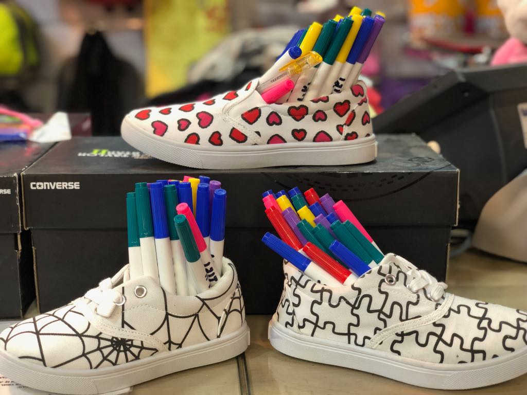 נעלי צביעה לילדים