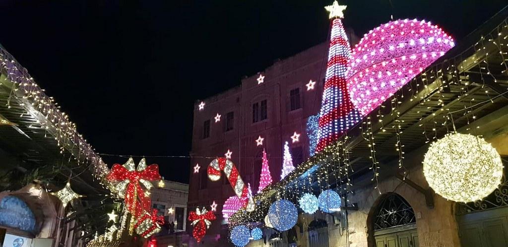 חגיגות חג המולד בירושלים