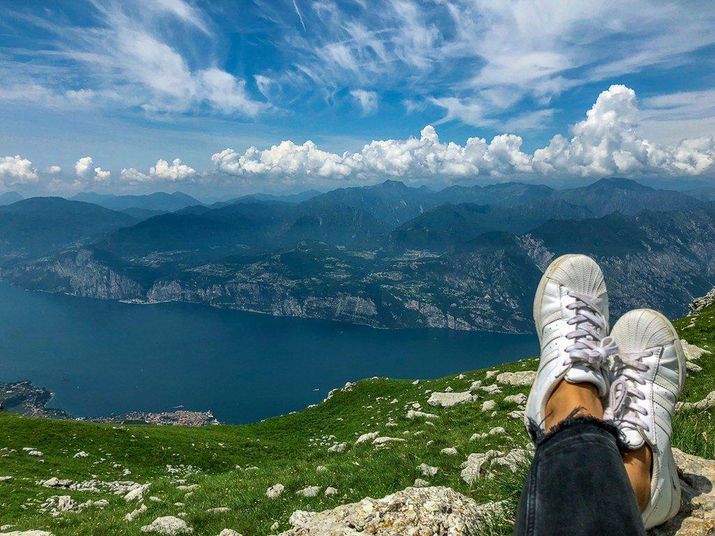 אגם גארדה שבצפון איטליה