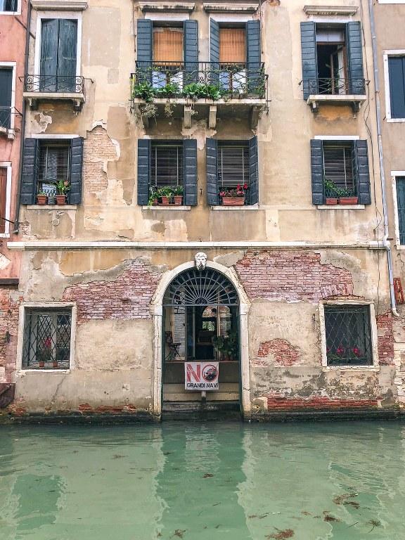 בית על התעלה הגדולה בונציה
