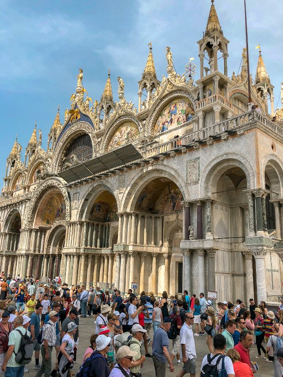 ונציה כיכר סן מרקו