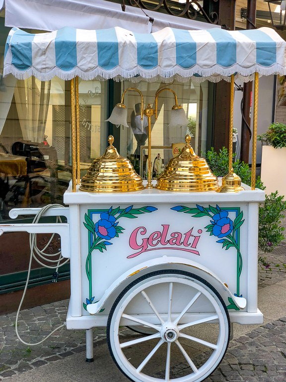 צפון איטליה גלידה