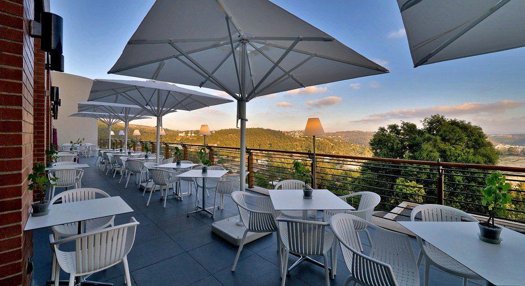מלון עם נוף בירושלים