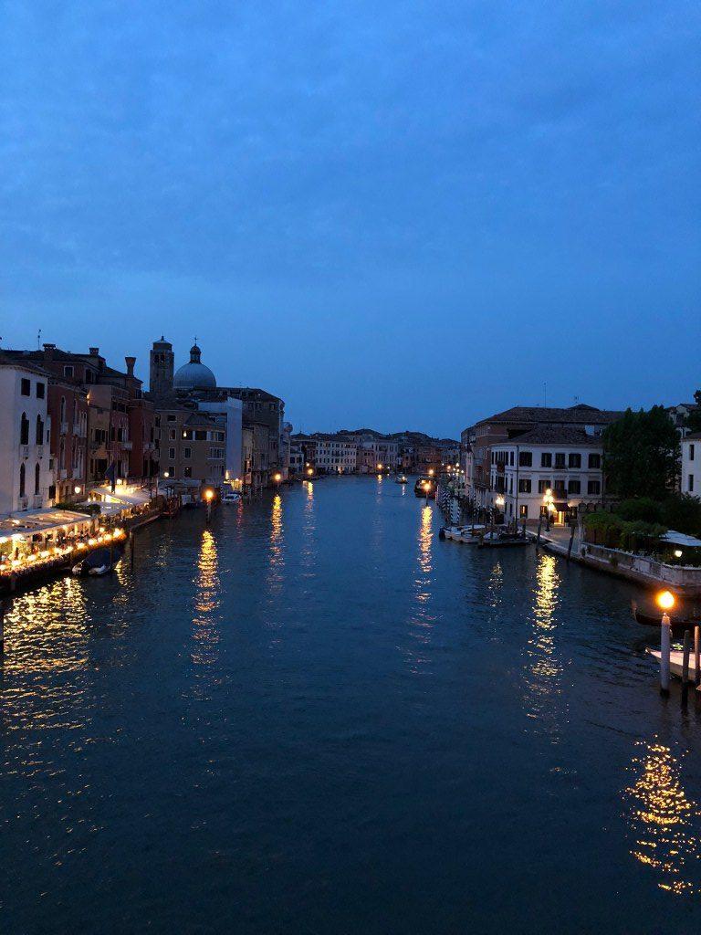 ונציה בשעות הערב