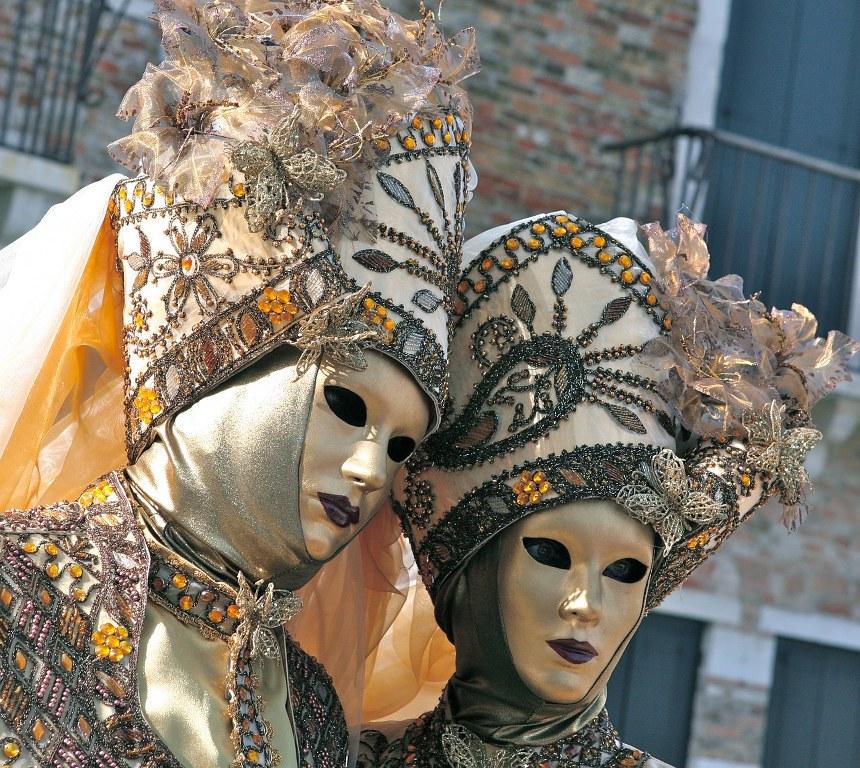 פסטיבל המסכות בונציה שבצפון איטליה