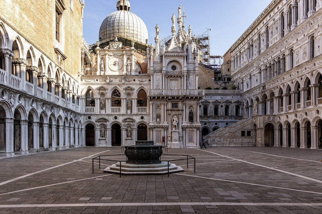 אטרקציות בונציה : ארמון הדוג'ה