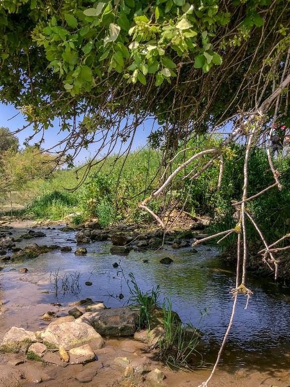 שביל מים במאגר גלעד