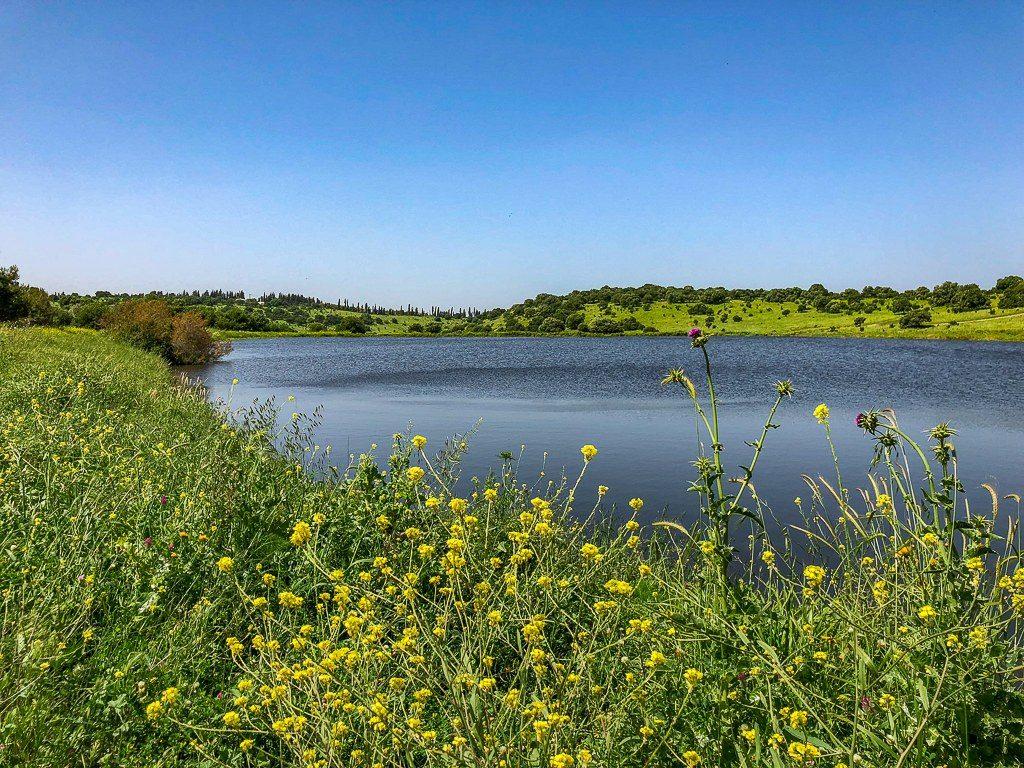 לטייל לצד מים במאגר גלעד