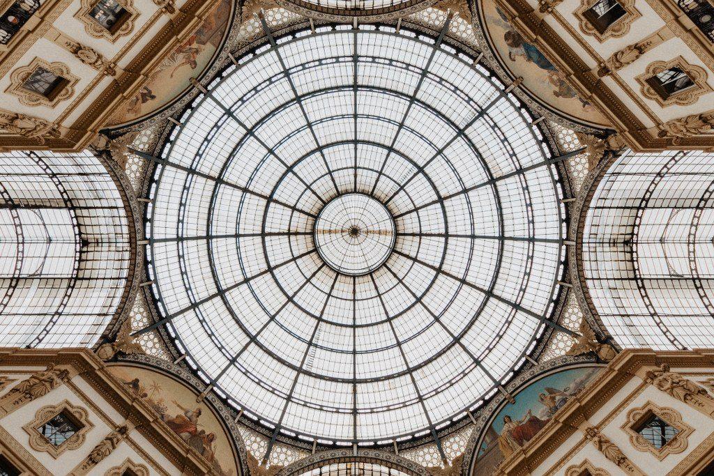גלריה ויטוריו עמנואל השני Galleria Vittorio Emanuele