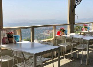 מסעדה מול נוף לכנרת
