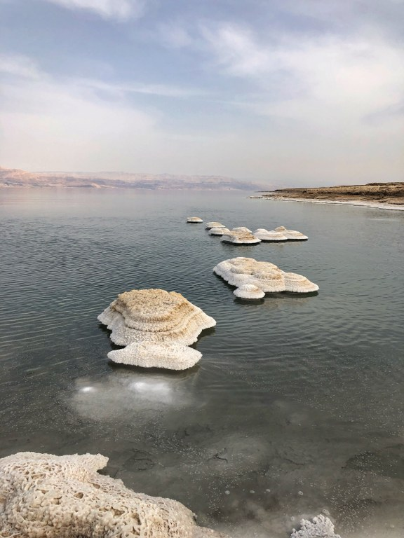 ים המלח באמצעות שייט