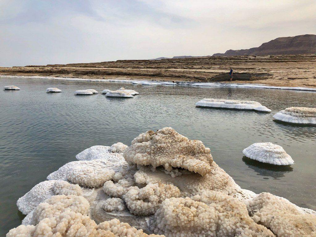 יום כיף בים המלח בחופים הצפוניים