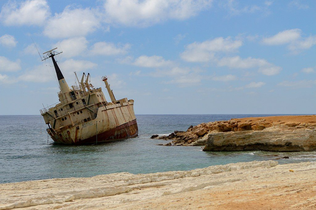ספינה טרופה בקפריסין