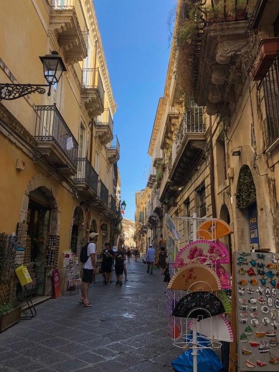 סמטאות האי אורטיג'יה שבסיציליה