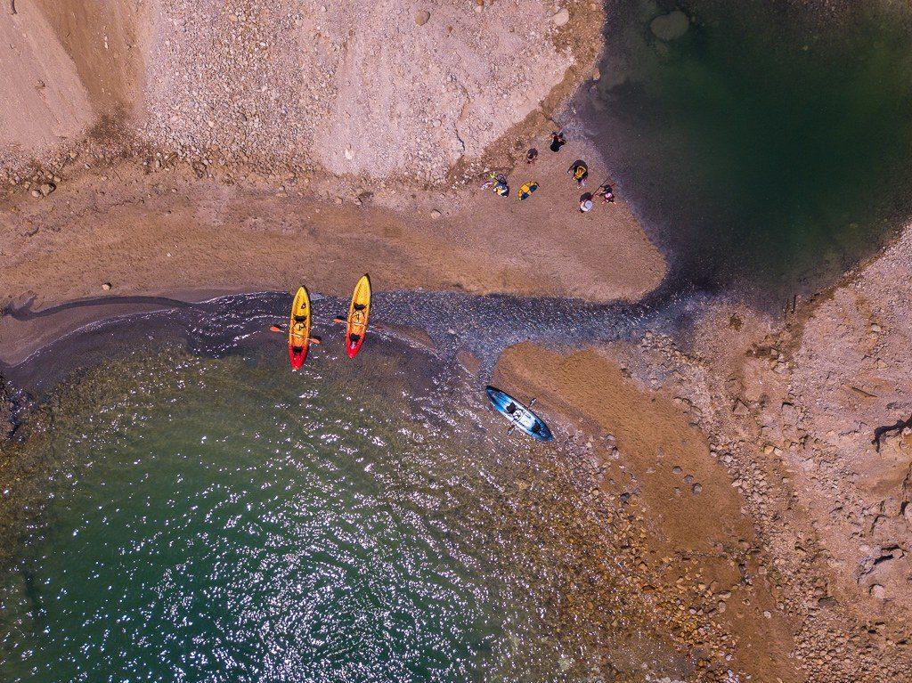 קייקים בחופי ים המלח