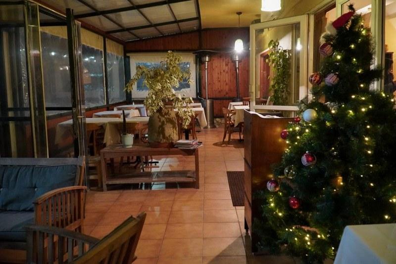 מסעדת אלומה במעלות תרשיחא עם עת חג המולד