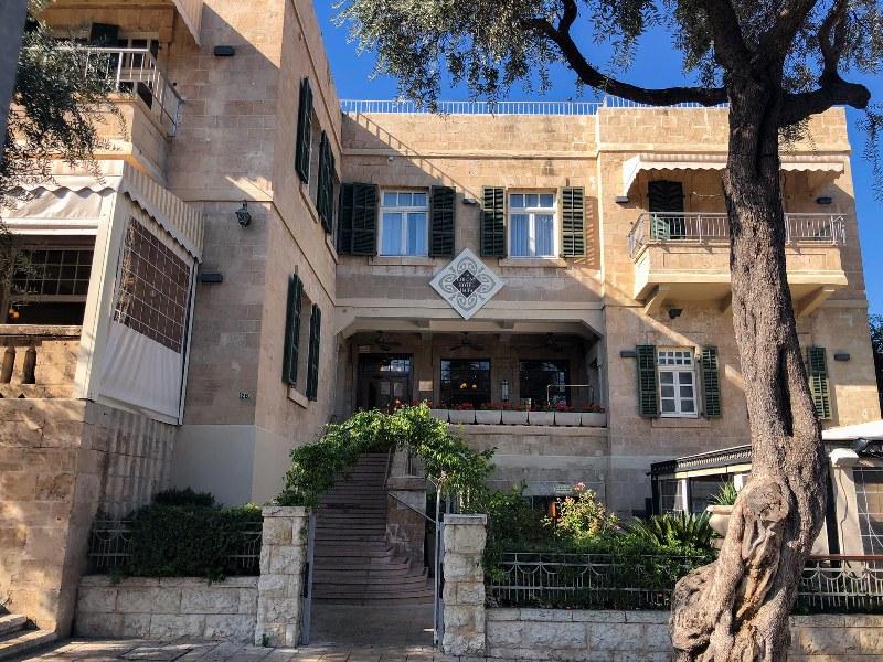 מלון קולוני במושבה הגרמנית בחיפה