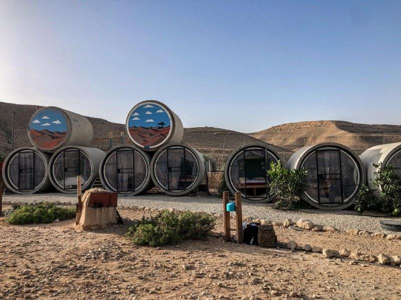 חוות נאות צינורות במדבר