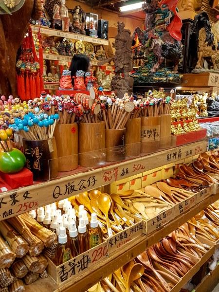 חנות מזכרות בג'יופאן טאיפיי