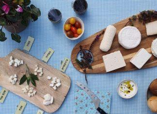 אירוח של גבינות עיזים אצל משק שמואלי