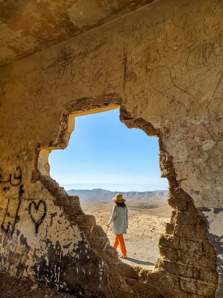אום דרג' במהלך טיול ג'יפים במדבר יהודה
