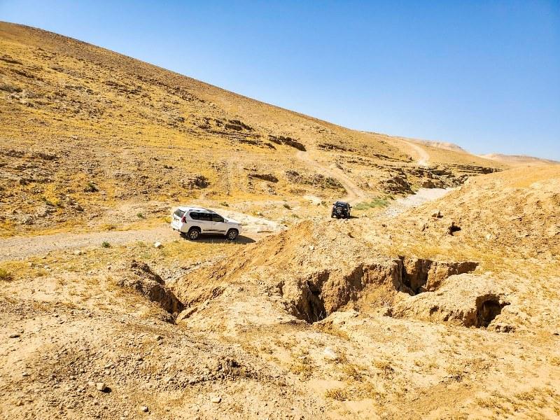 טיול ג'יפים במדבר יהודה הכולל את מעלה חולד