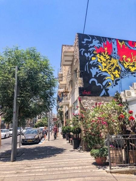 גרפיטי בעיר התחתית חיפה