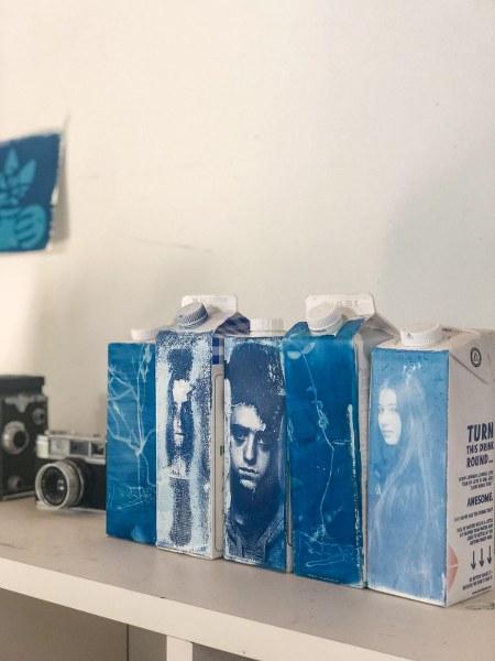 סדנת סיאנוטריפ בסטודיו של נועה זני
