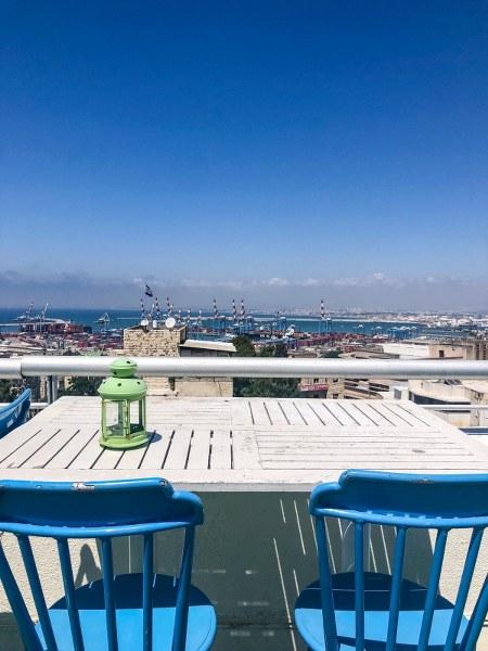 מסעדה בחיפה עם נוף