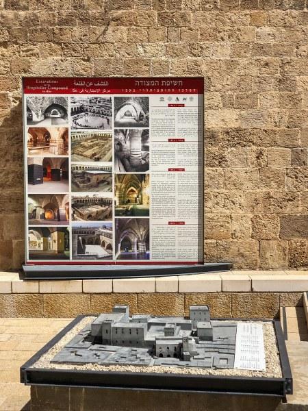 המצודה באולמות האבירים בעכו