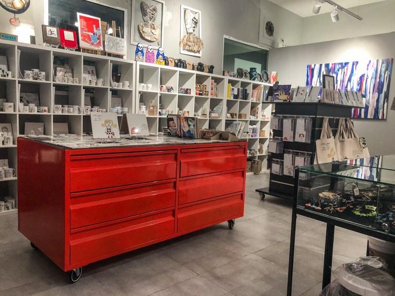 גלריה וחנות אמנות בפלורנטין