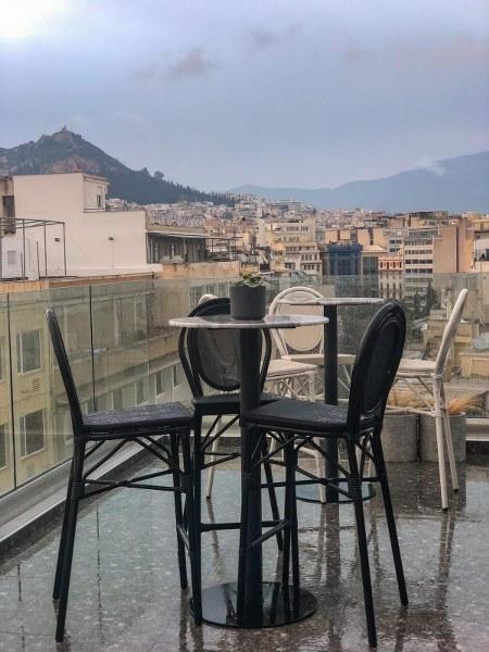 גג מלון דה פינאקל באתונה