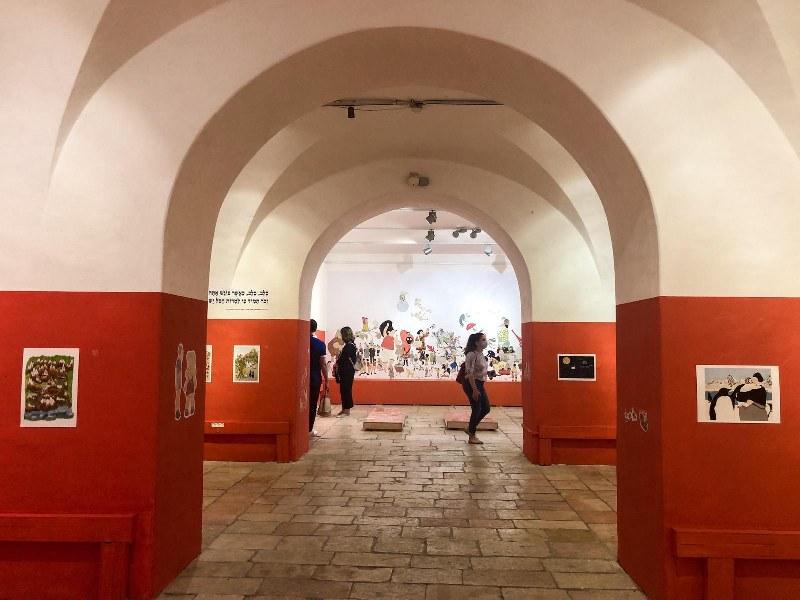 תערוכה בבית הנסן