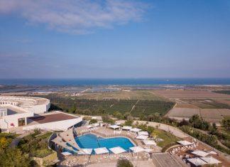 מלון אלמא בזכרון יעקב הפונה לים התיכון