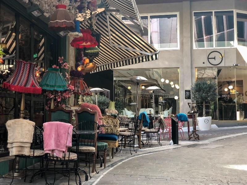 סיור אוכל באתונה בין בתי קפה