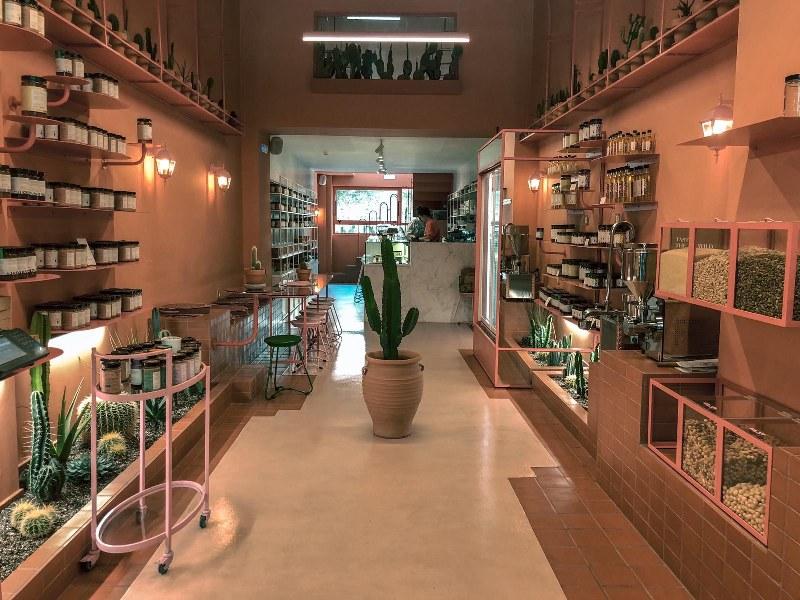 מסעדה טבעונית באתונה