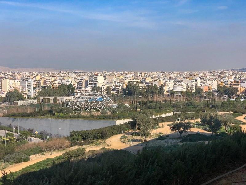 תצפית ממרכז תרבות סטברוס ניארכוס