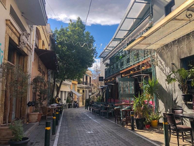 שכונת פסירי PSYRI באתונה