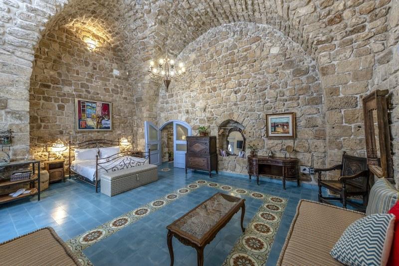 חדר הטווס במלון ערבסק