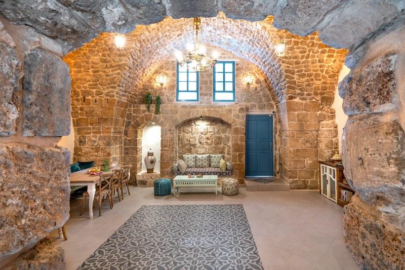 מלון ערבסק בתוך מבנה עות'מני עתיק